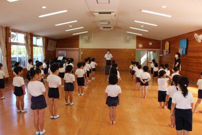 コロナ 幼稚園 夏休み